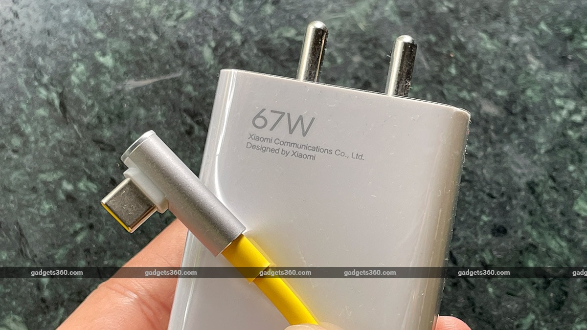 poco f3 gt charger lshaped connector gadgets360 Poco F3 GT Review